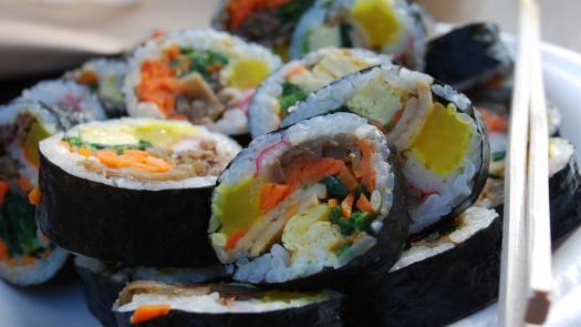 這是飯捲還是壽司?  日韓文化滋味大不同
